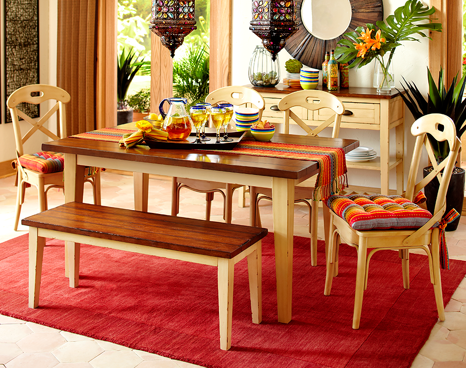 Kitchen Chairs, Round Table Carmichael