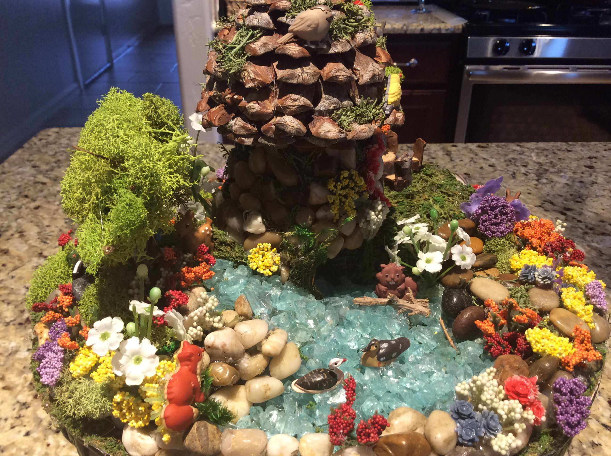 Mini #forest #garden #nature | Miniature figurines | Pinterest