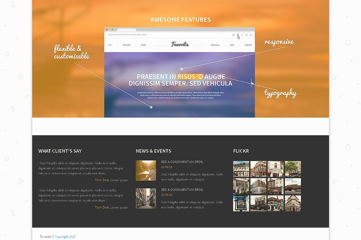 MultiPurpose Bootsrap Theme Theme, Purpose, Typography