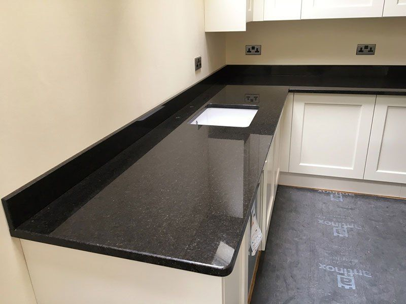 Deciding On Your Kitchen Countertop Material Black Granite