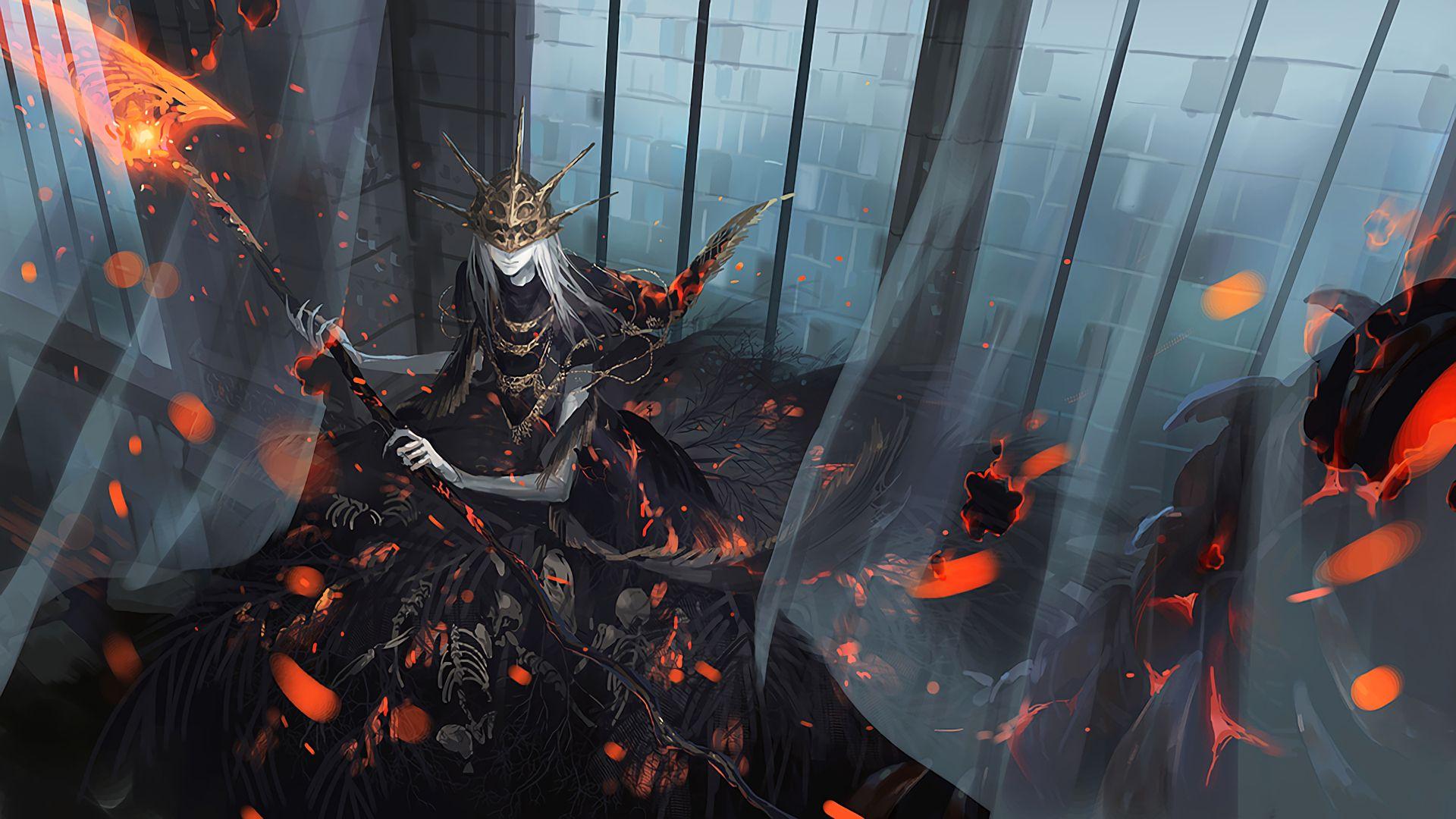 Dark Souls And Bloodborne Wallpaper Dump Spoilers Ahead
