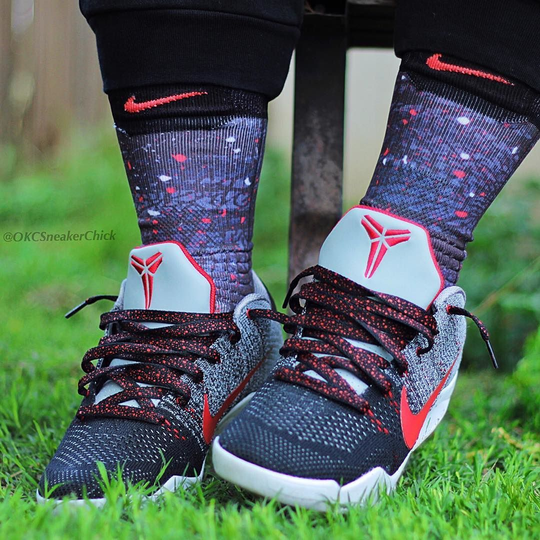 Kobe 11 Tinker Muse Custom Elite Versatility Socks