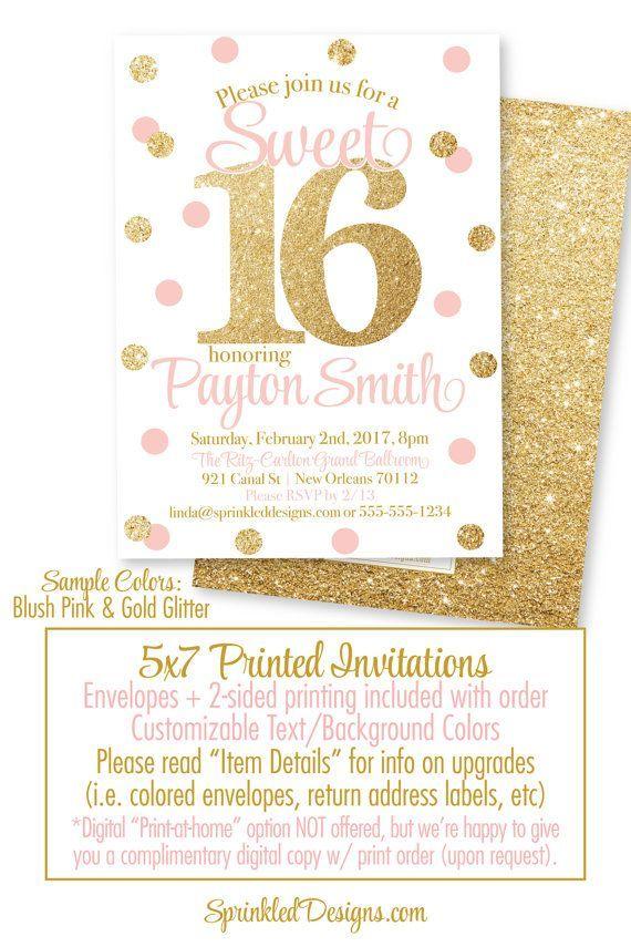 Pin by Princess H on Blush Gold Sweet 16s Pinterest Sweet