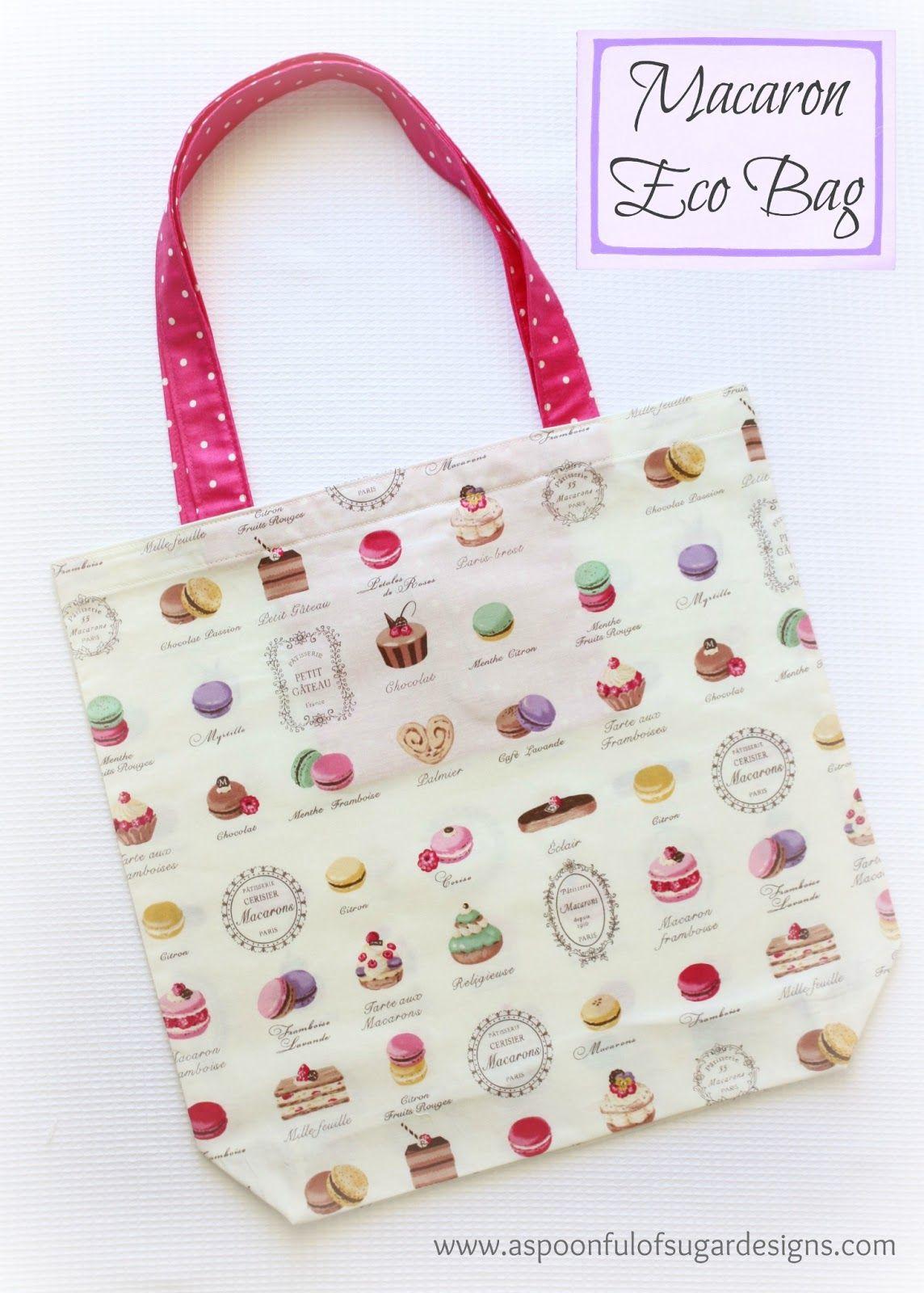 Eco Bag   A Spoonful of Sugar   sew fun   Pinterest   Bolsos cartera ...