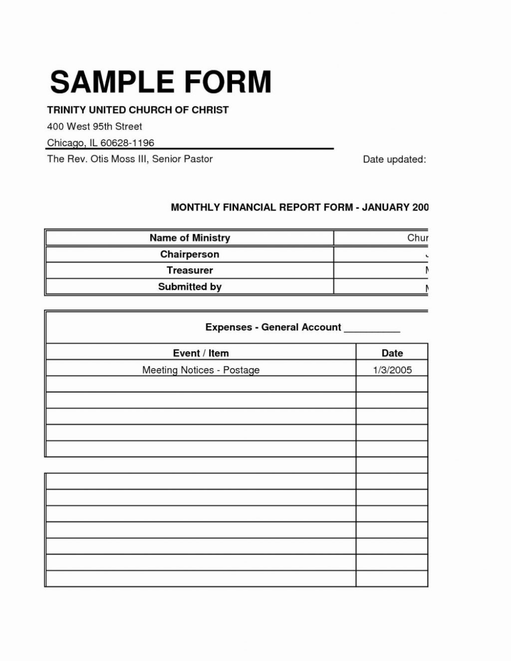 Church Quarterly Financial Report Example Treasurer E Monthly Excel Pertaining To Annual Fin Statement Template Personal Financial Statement Financial Analysis