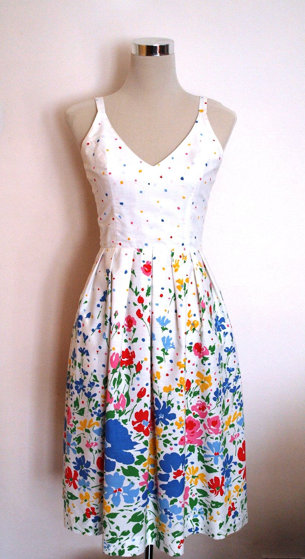 1950s 1960s Lanz Originals Vintage Summer Dress Crisp Etsy Vintage Summer Dresses Cotton Dress Summer Summer Dresses [ 1500 x 820 Pixel ]