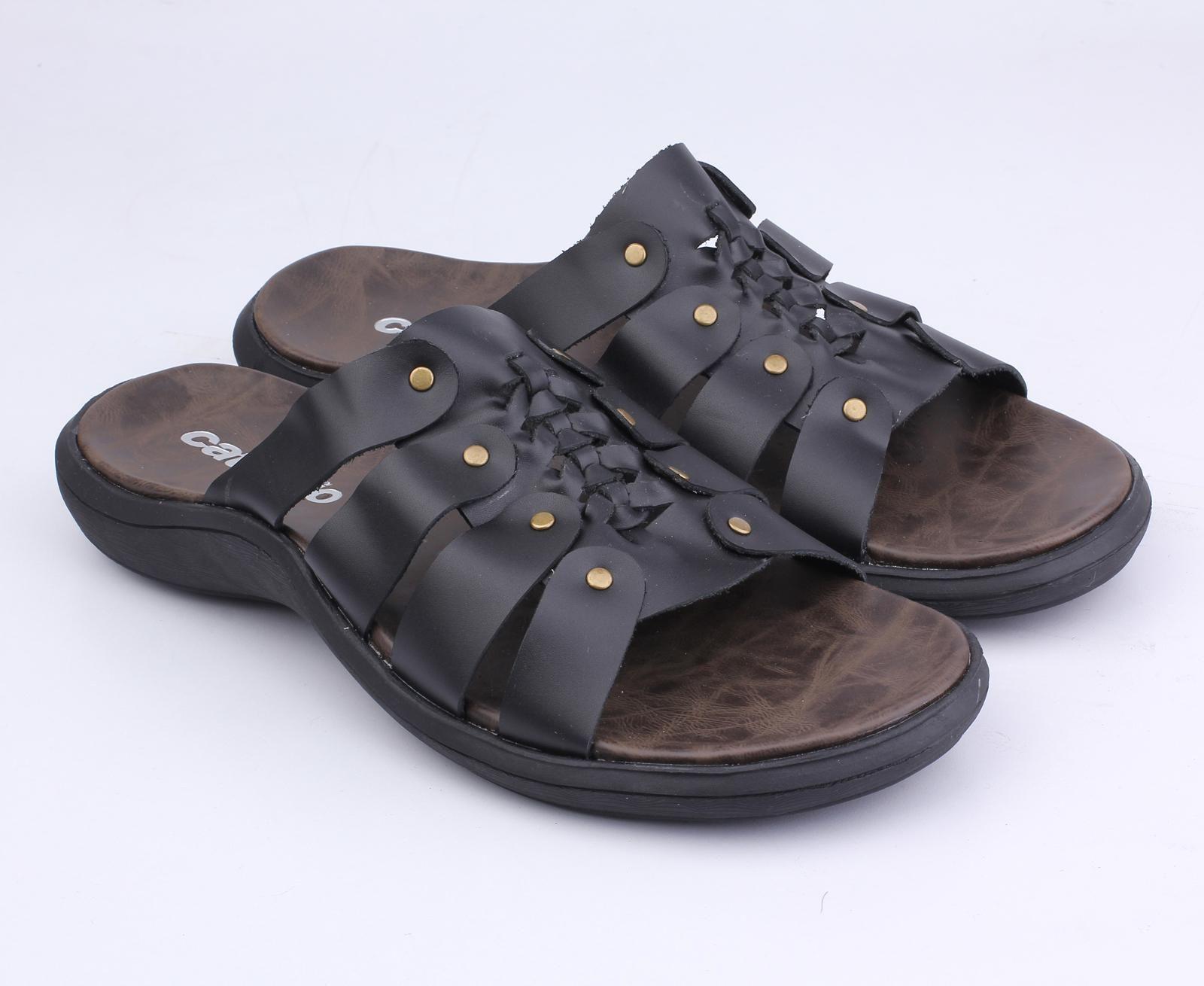 Sandal Kulit Casual Pria Tu 030 Bushindo Shop Pria Sandal