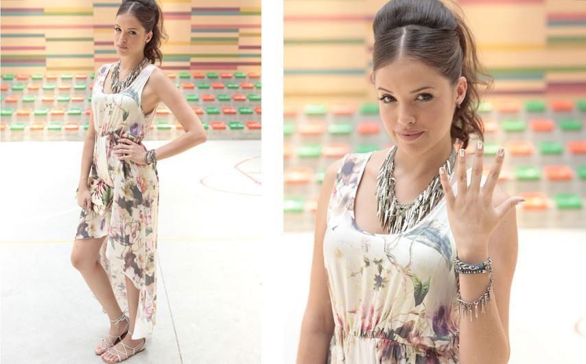 eu amei esse vestido que a Ju usou pro casamento da Isabela (Malhação)