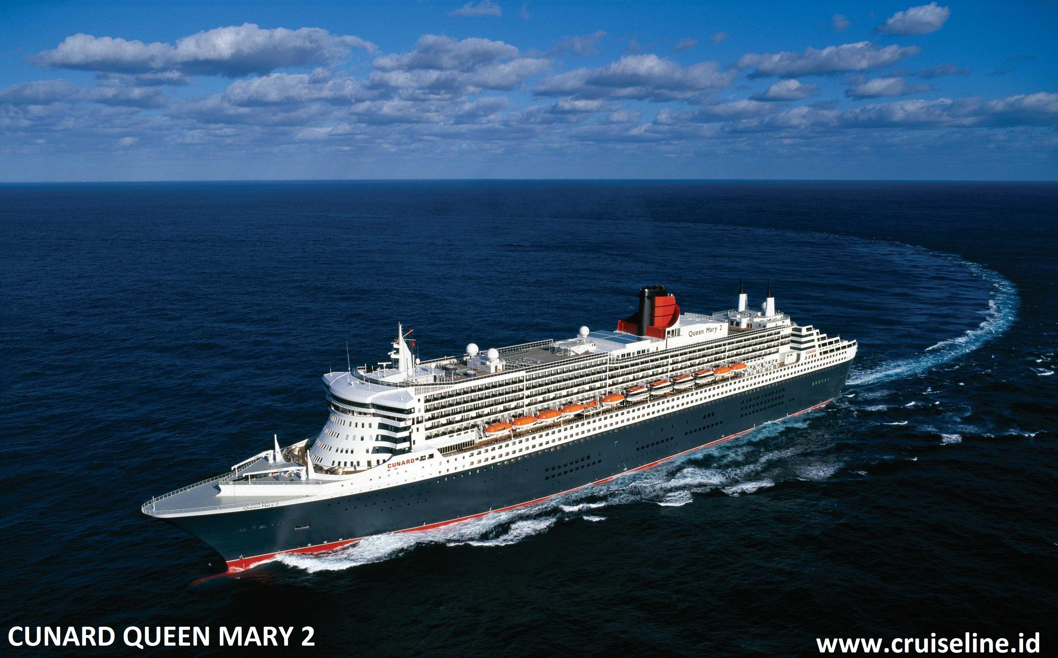 Cunard Queen Mary 2 Kapal Pesiar Pesiar Kapal