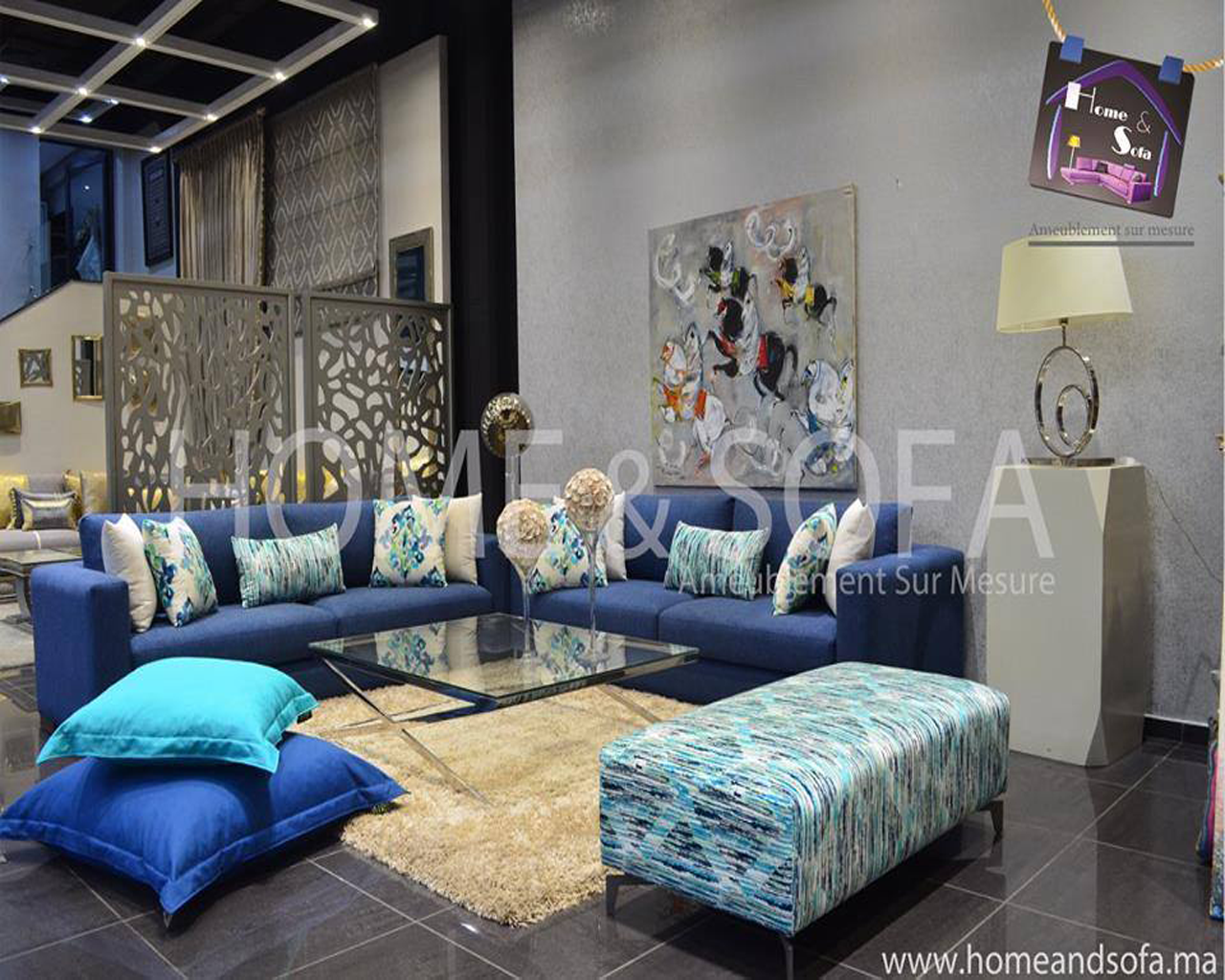 Salon moderne Home and Sofa | SALON MAROCAIN | Pinterest | Salons