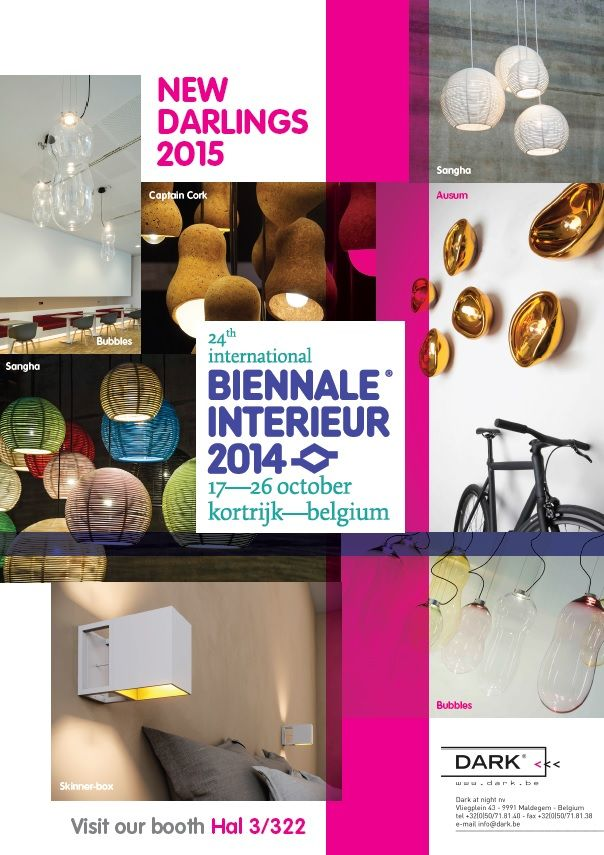 Join DARK at the 24th international \'BIENNALE INTERIEUR\' from 17 ...