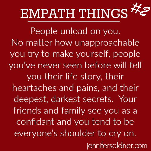 how to tell a person is an empath