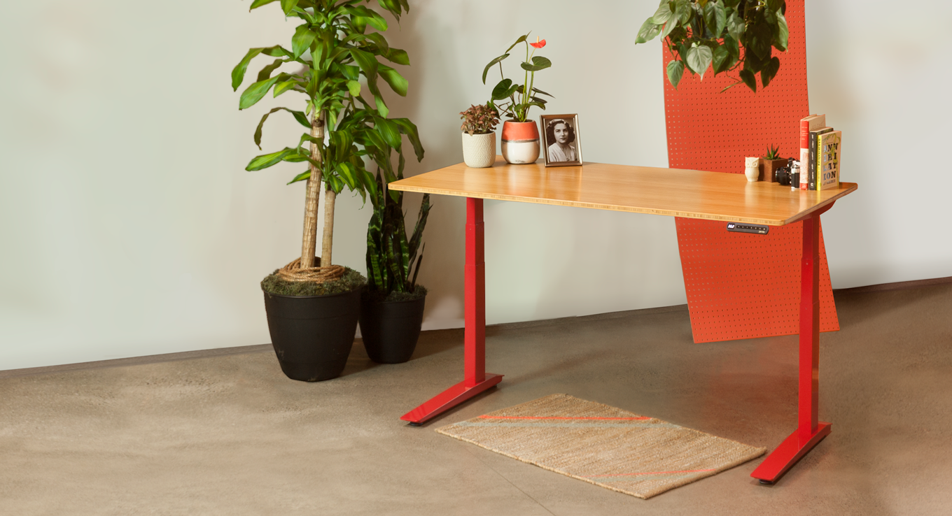 Tremendous We Stand With Red Stand Desk Office Desk Red Download Free Architecture Designs Xaembritishbridgeorg