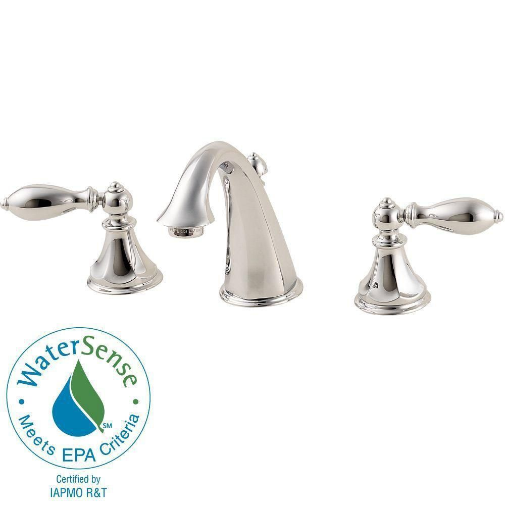 Price Pfister Catalina 8 inch Widespread 2-Handle Bathroom Faucet in ...