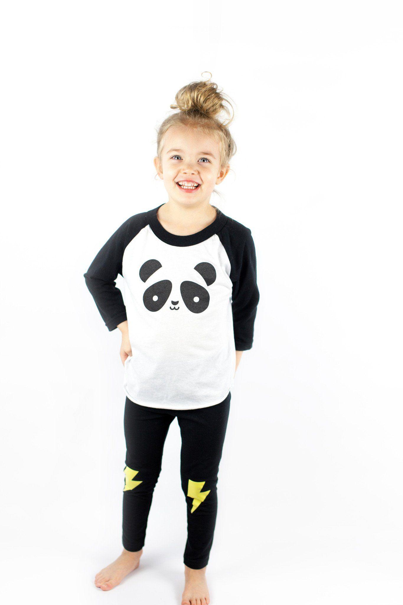 533629bd6ecb52 Kawaii Panda Baseball T-Shirt | AJ | Shirts, Panda, T shirt