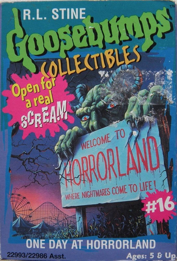 Goosebumps Shrieks and Spiders Board Game Monster cards
