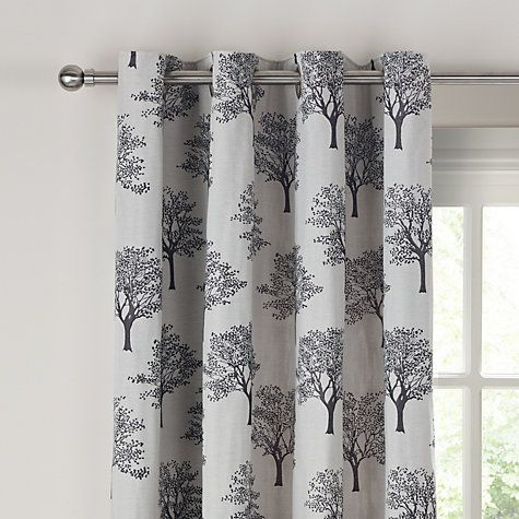 Buy John Lewis Oakley Trees Eyelet Lined Curtains Natural Online At Johnlewis Com Lined Curtains Curtains Living Room Color Schemes