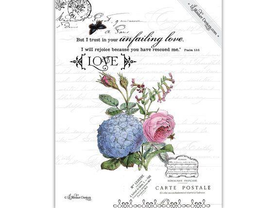 Joy 8x10 Christian art print Psalms 118:24 LilStinkerDesign.etsy.com  $20.00 US