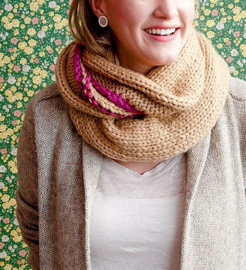 Lovely Knit Cowl Pattern | AllFreeHolidayCrafts.com