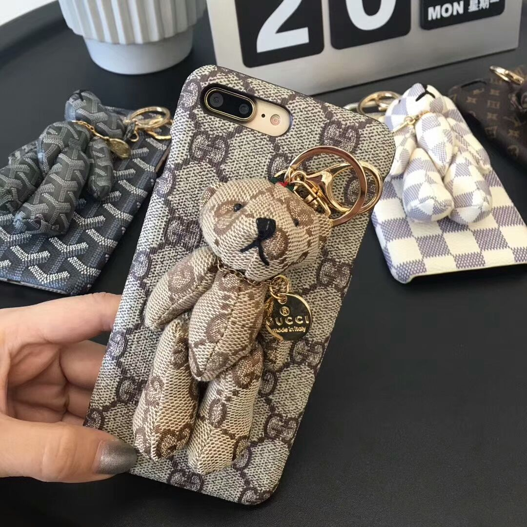 Gucci bear hard case for iphone xiphone66plus77plus8