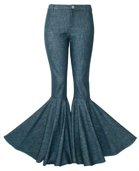HighHigh Waisted Skinny Jeans With Bell Bottom by SuperflyStudios ...
