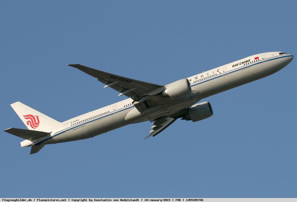 Photo Air China Boeing 777-39L (ER) B-2090