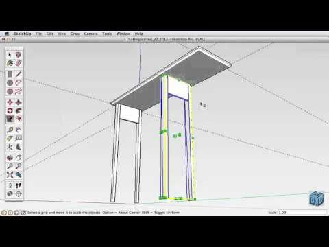Sketchup Tutorial For Beginners-Part 4 - YouTube | Sketchy