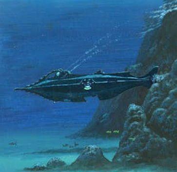 The Nautilus (20,000 Leagues Under the Sea) #nautilus #julesverne #fantasy