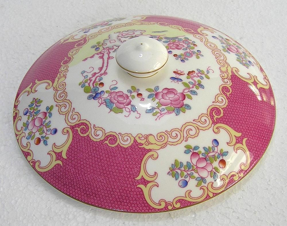 Unboxed Tableware British Minton Porcelain \u0026 China | eBay & MINTON-china-COCKATRICE-PINK Vegetable Dish Lid #VegetableDishLid ...