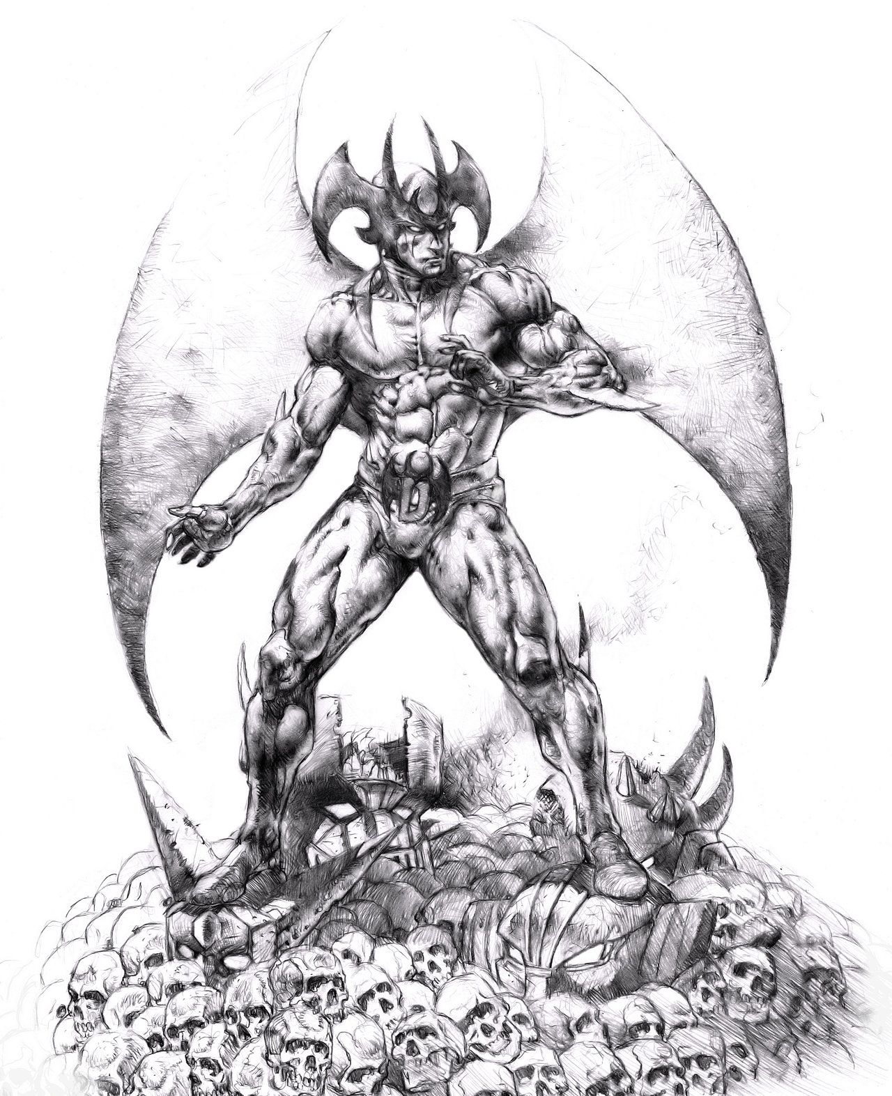 Devilman 2016 by dannycruz4 on DeviantArt Manga artist