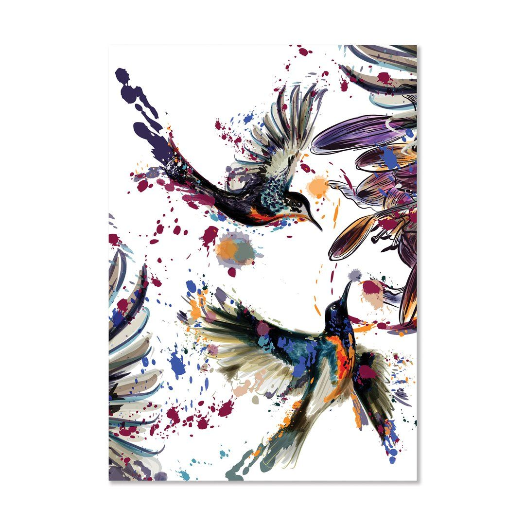 "Bird Wall Art Print - ""Flight Of Fancy"""