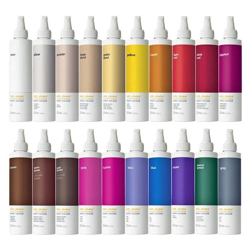 Milkshake Direct Color Provides The Coloring Power Of Pigments And