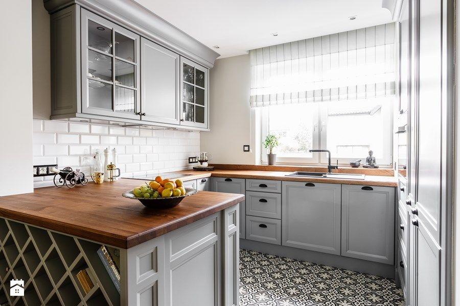 Dom  Gdańsk Oliwa  Średnia otwarta kuchnia w kształcie