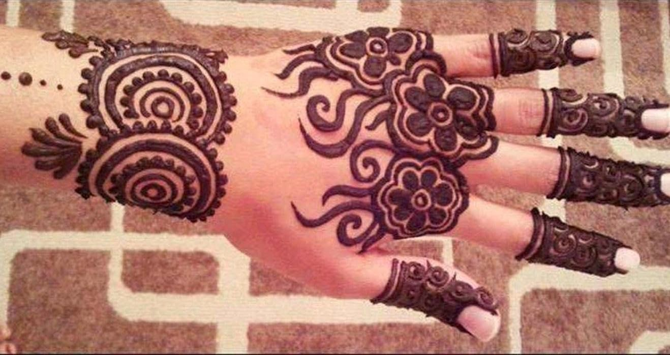bridal mehndi designs: latest fancy hand mehndi design wallpapers