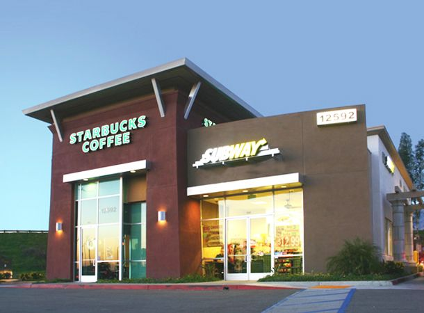 Retail Buildings   Multi Tenant Retail Building Including Starbucks With  Drive Through.