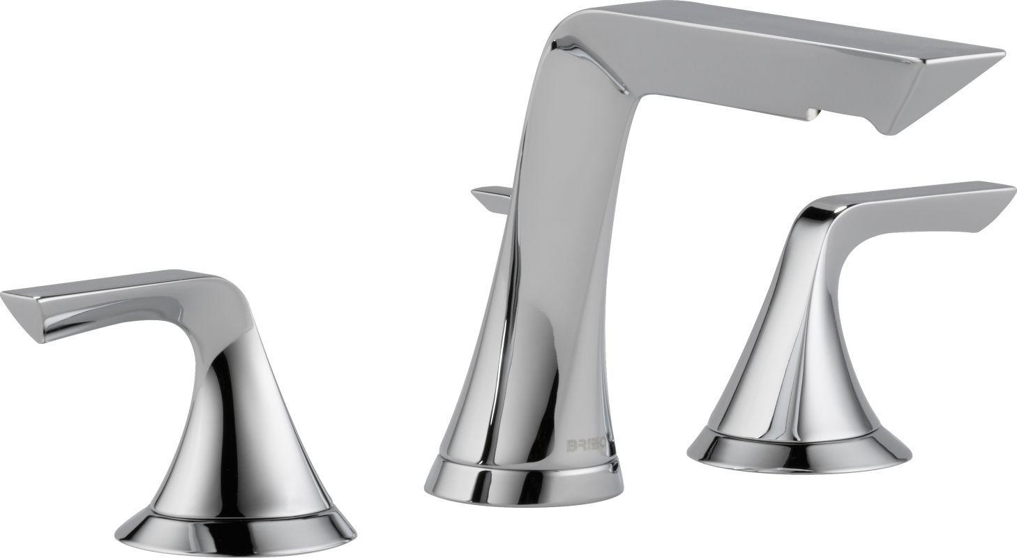 Brizo 65350LF Sotria Widespread Bathroom Faucet with Pop-Up Drain Assembly - Inc Chrome Faucet Lavatory Double Handle