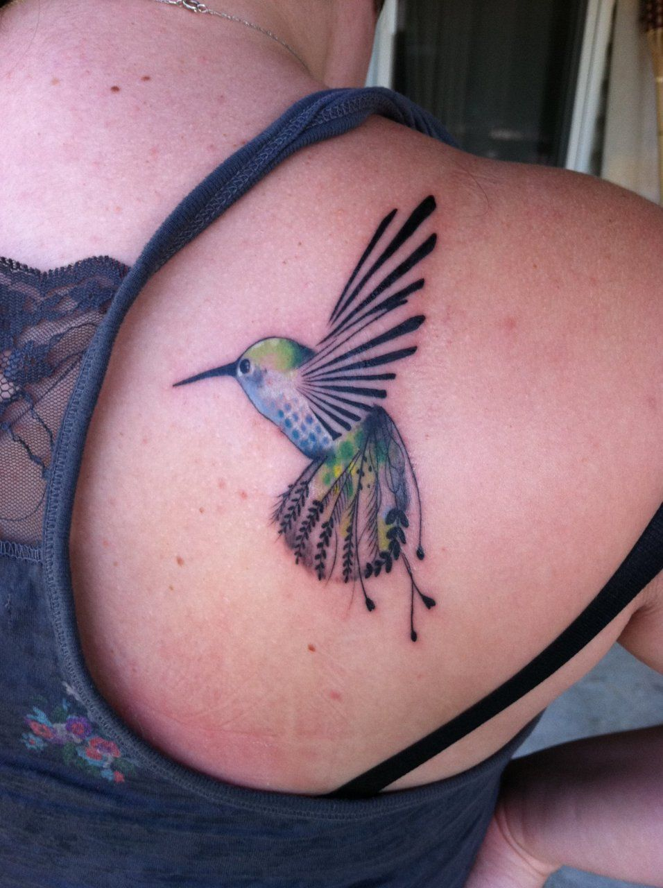 Hummingbird Tattoos, Inspirational tattoos, Hummingbird