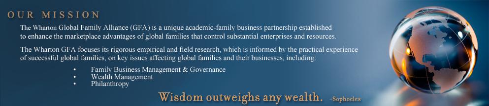 Wharton Global Family Alliance