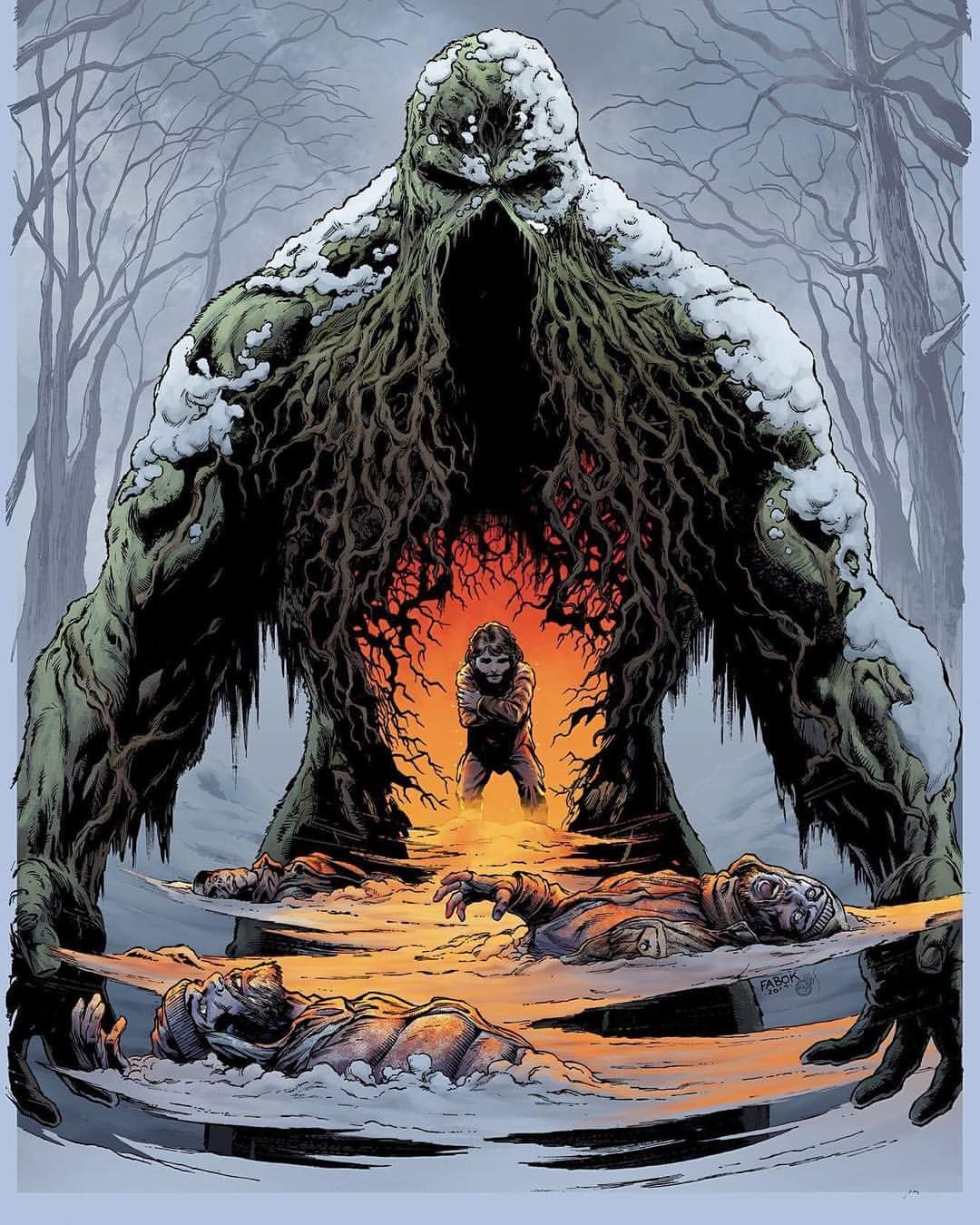 Swamp Thing by Jason Fabok #swampthing