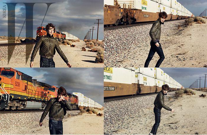 Kim Woo Bin W Magazine 1