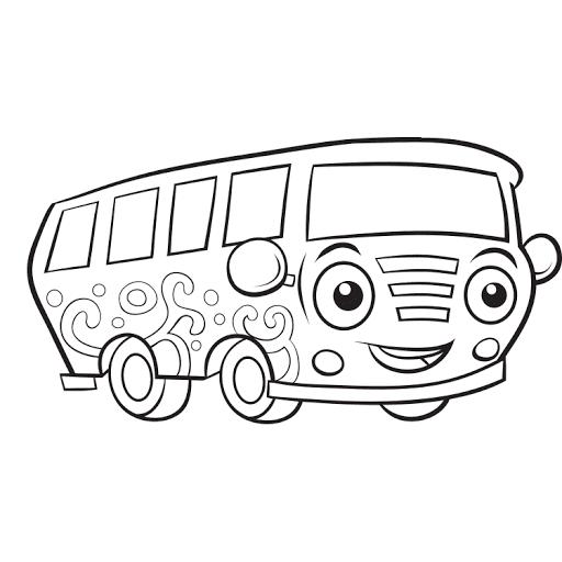 Mewarnai Gambar Mobil Van Keluarga Coloring Color Vans