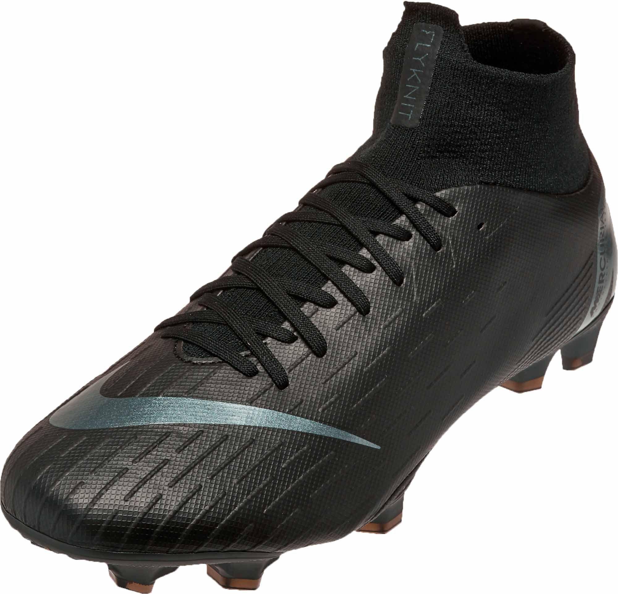 04e7c6cbb Nike Superfly 6 Pro FG – Black/Black | Soccer shoes | Nike, Superfly ...
