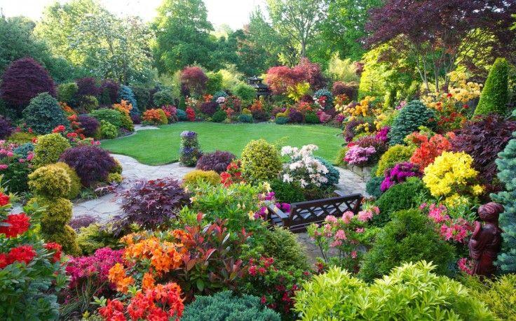 Beautiful, Home, Flower, Gardens, Wallpaper, Desktop