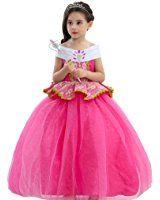 Frozen Elsa Belle Aurora Prinzessinkleid Kind Mädchen Party Karneval Tutu Kleid