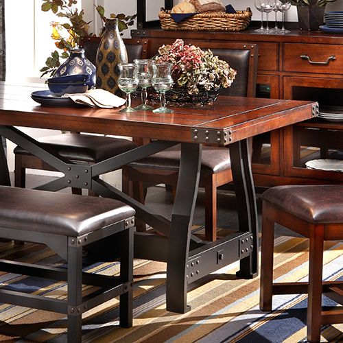 table to impress? shop the dining collection at furniture row. | for
