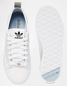 Enlarge Adidas Originals Honey 2.0 White Trainers 55 fb4e0133343