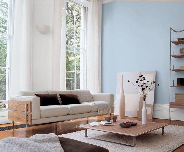 Ideen zum Wohnzimmer streichen \\u00bb 5 kreative Beispiele ...