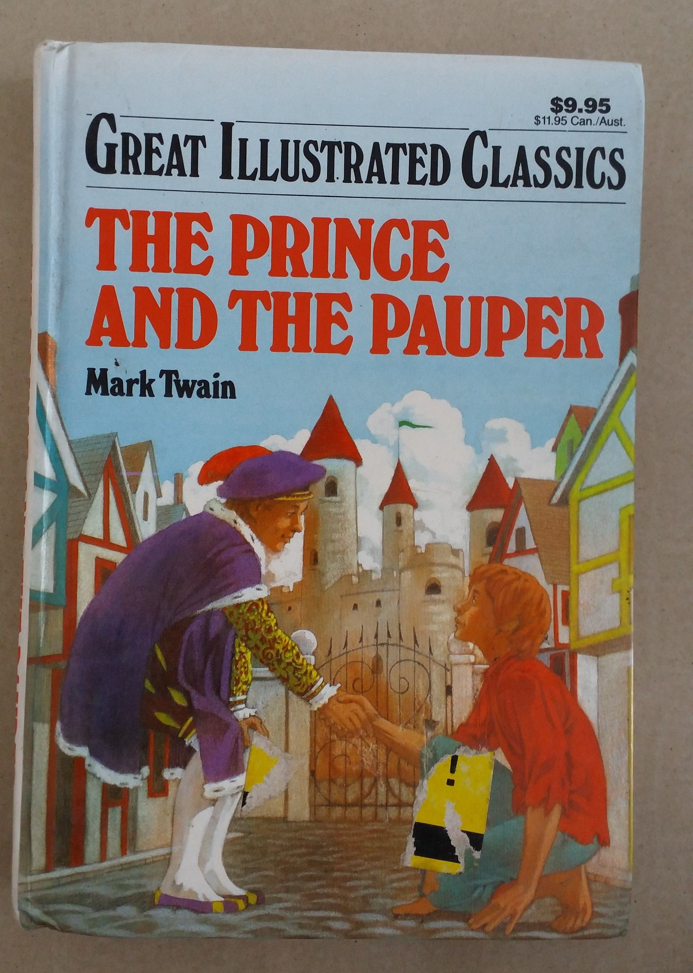 The Prince The Pauper Ts B 98 Paupers Hardcover Prince