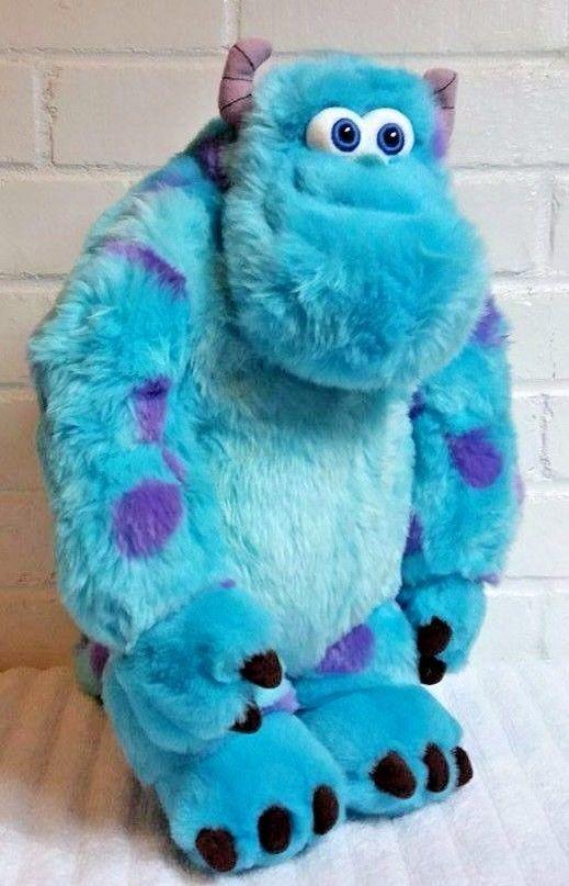 disney store original sully from monsters inc stuffed animal plush
