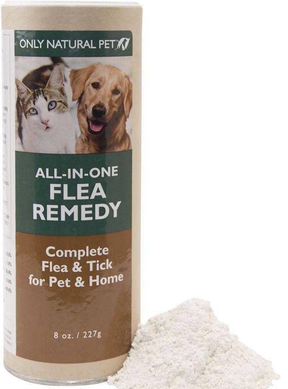 AllinOne Flea Remedy Powder for Dogs & Cats 8 oz